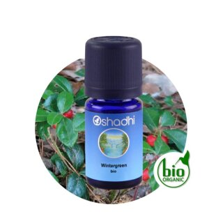 Wintergreen Oil bio (Wintergrün Öl) 5ml Oshadhi