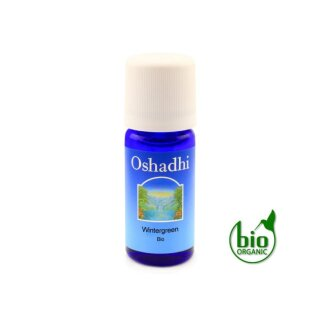 Wintergrün Öl bio(Wintergreen)10ml Oshadhi